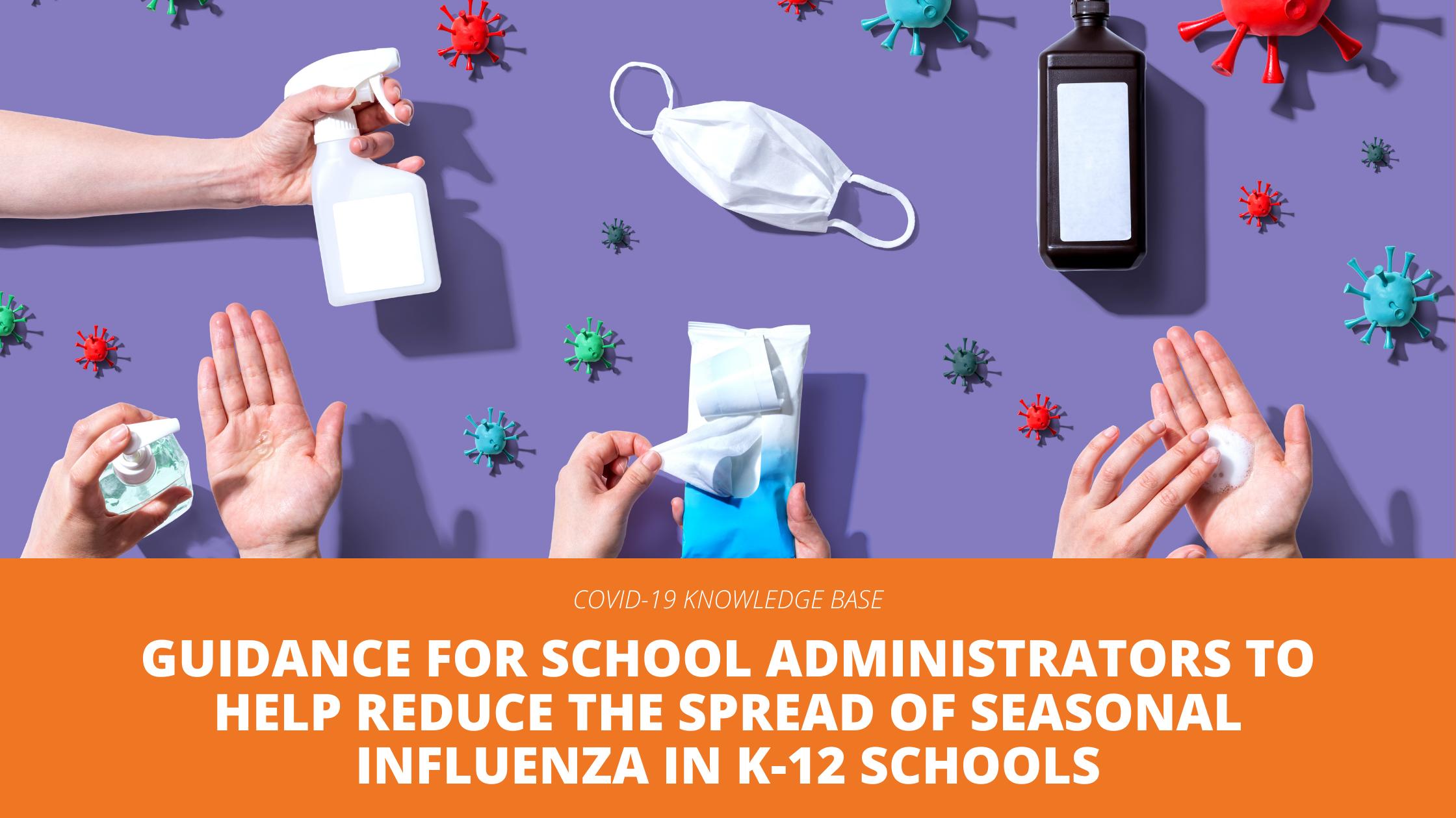 reduce spread of flu