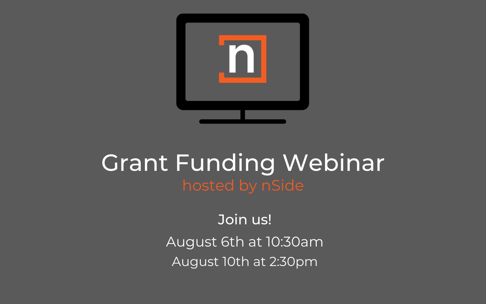 Copy of Grant Funding Webinar